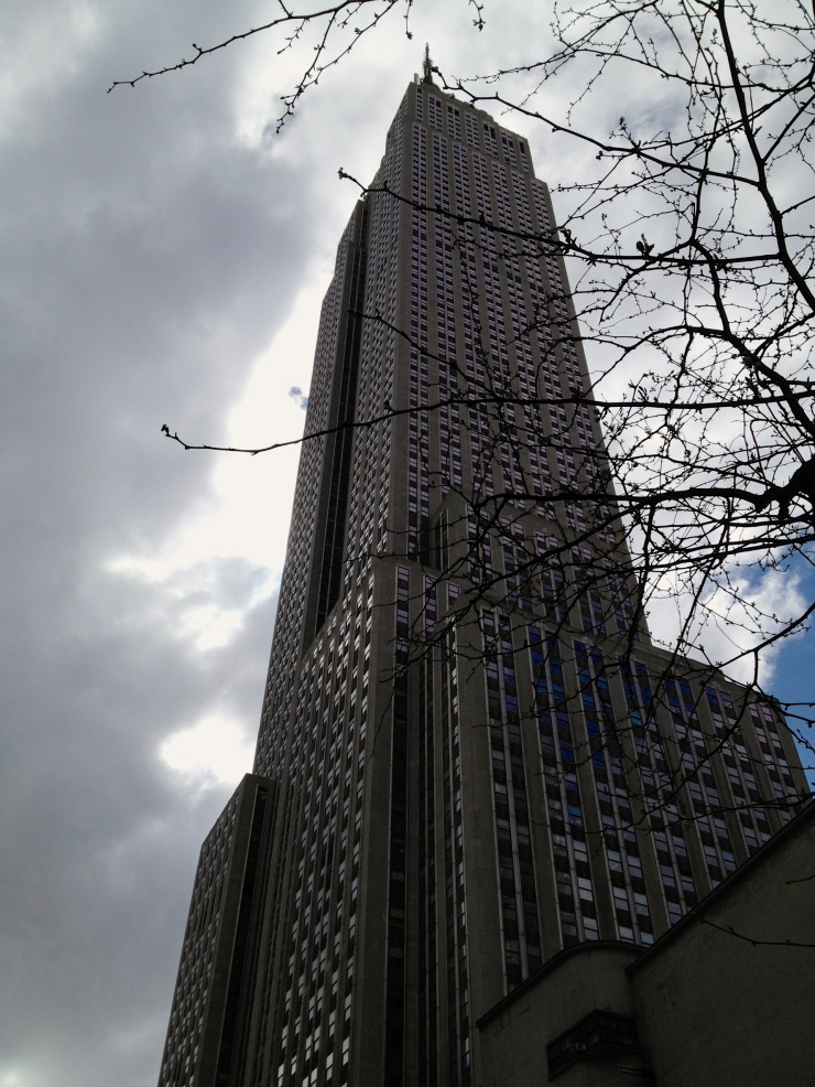What a very tall building…