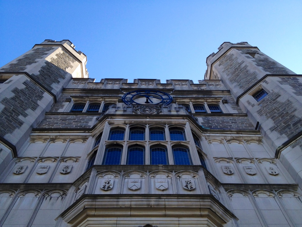 Part of the gorgeous Princeton campus.