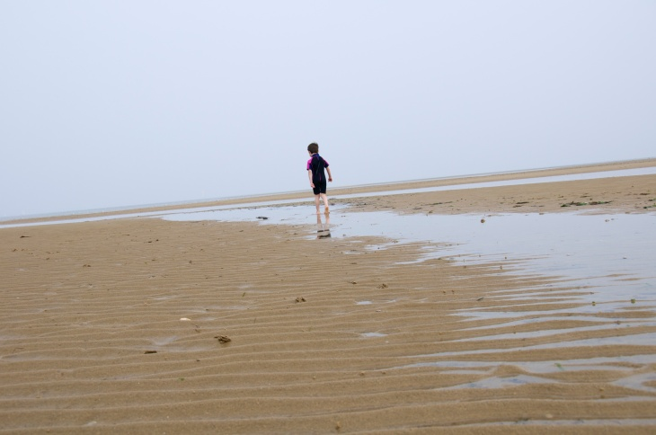 What fun to explore the beach!