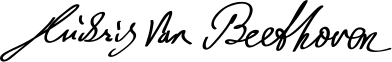 392px-Beethoven_Signature.svg
