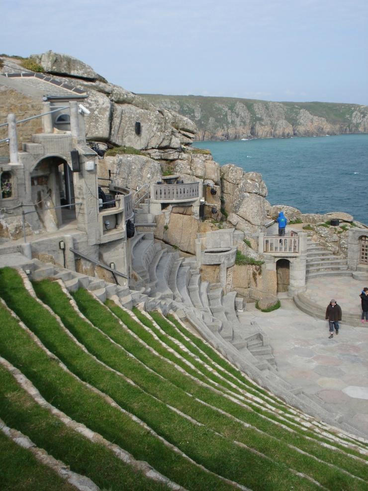 The Minack Theatre; always makes me think of Mynocks (Star Wars…anyone?).