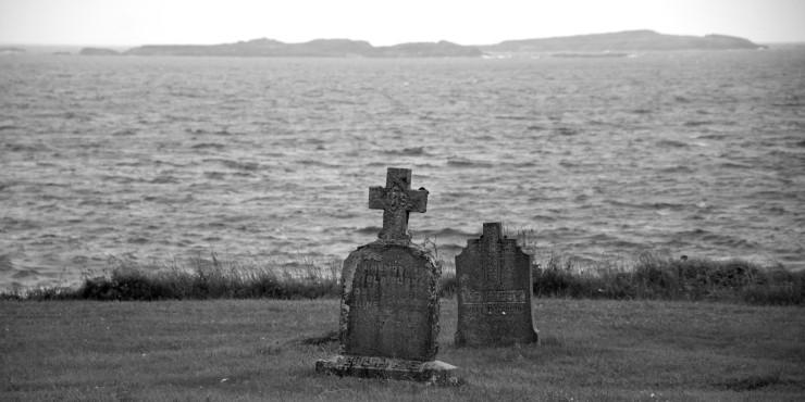 Graves of Viola Burke & Mary Douglas