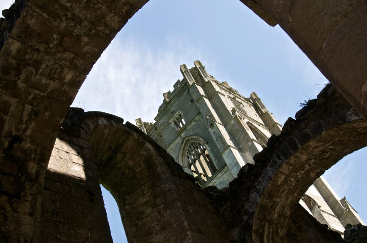 Tower through Arches