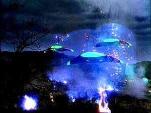 Shot from 1953's The War of the Worlds.