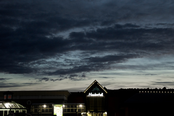 I love the dramatic sky.