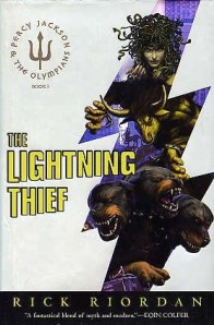 The Lightning Thief, by Rick Riordan