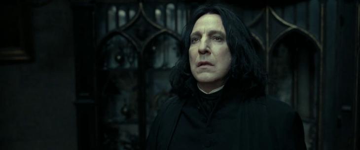 The brilliant –and secretive – Severus Snape.