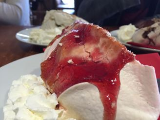 Meringues at our favorite tapas cafe, El Toro.