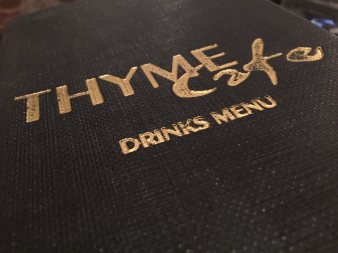 Thyme Cafe is one of our favorite restaurants in Sheffield.