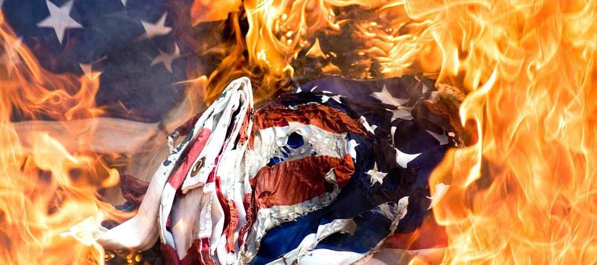 burning american flag essay Access to over 100,000 complete essays and term burning the american flag is a slap in the face thousands of men and women have died for flag burning, or any.